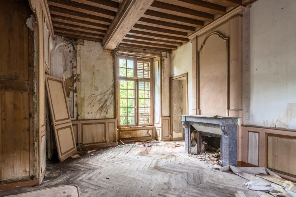 Photo Urbex Manoir Ecrivain Laurent Lelarge (11)