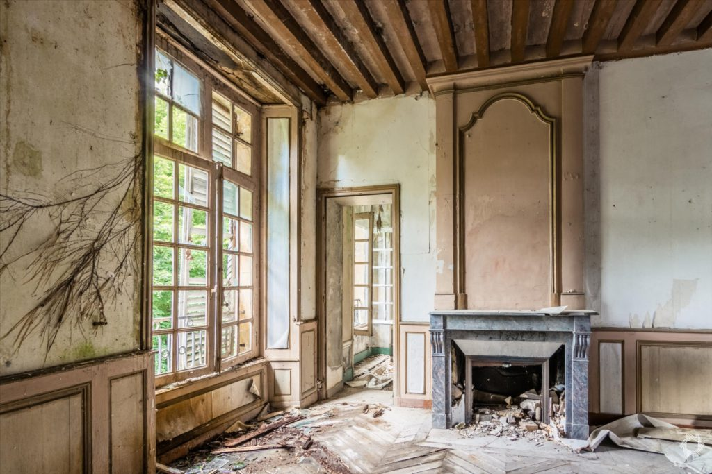 Photo Urbex Manoir Ecrivain Laurent Lelarge (13)