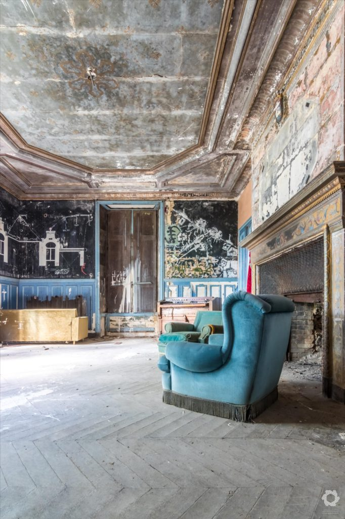 Photo Urbex Manoir Ecrivain Laurent Lelarge (3)