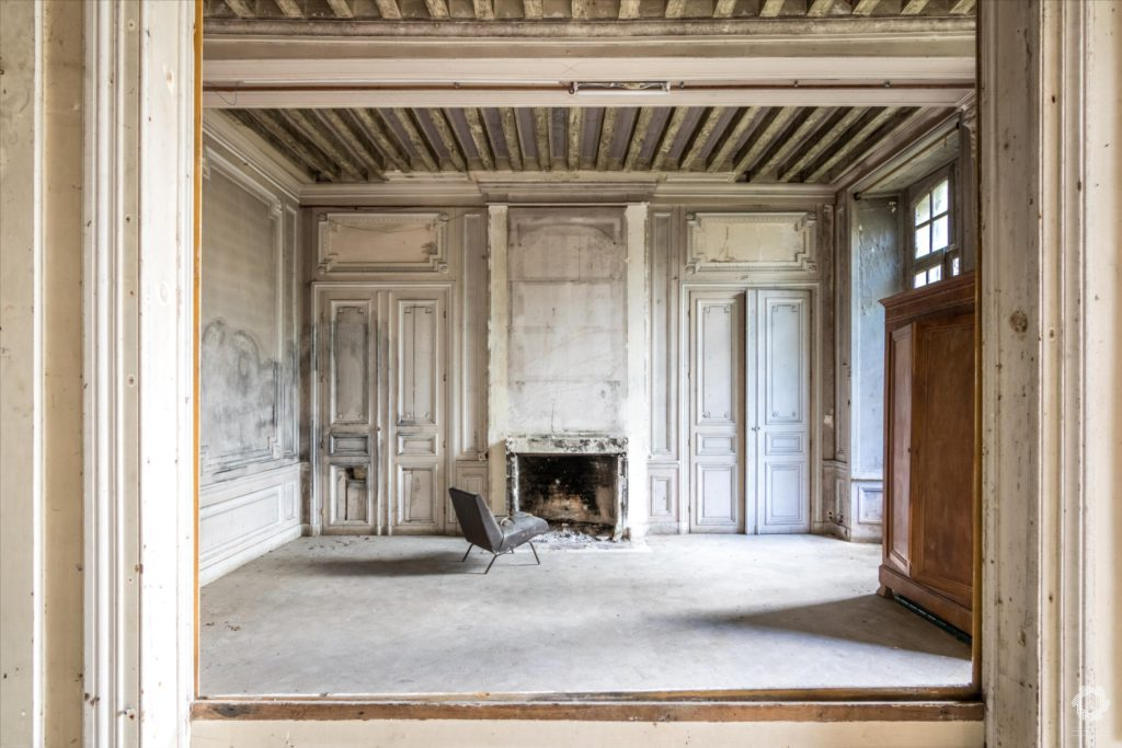 Photo Urbex Manoir Ecrivain Laurent Lelarge (6)