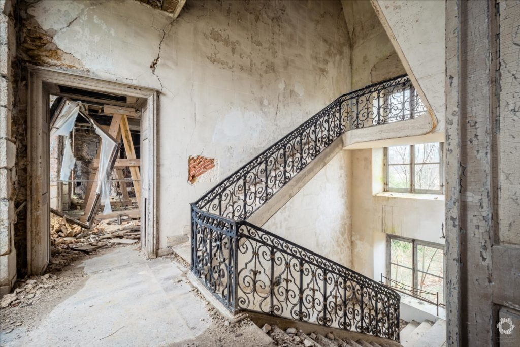 Photo Urbex Chateau Anges Laurent Lelarge (8)