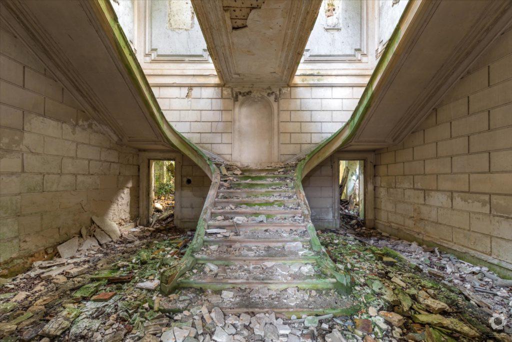 Photo Urbex Chateau Rotonde Laurent Lelarge (1)