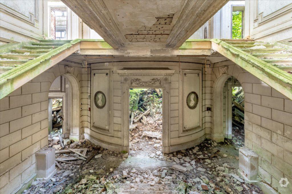 Photo Urbex Chateau Rotonde Laurent Lelarge (10)