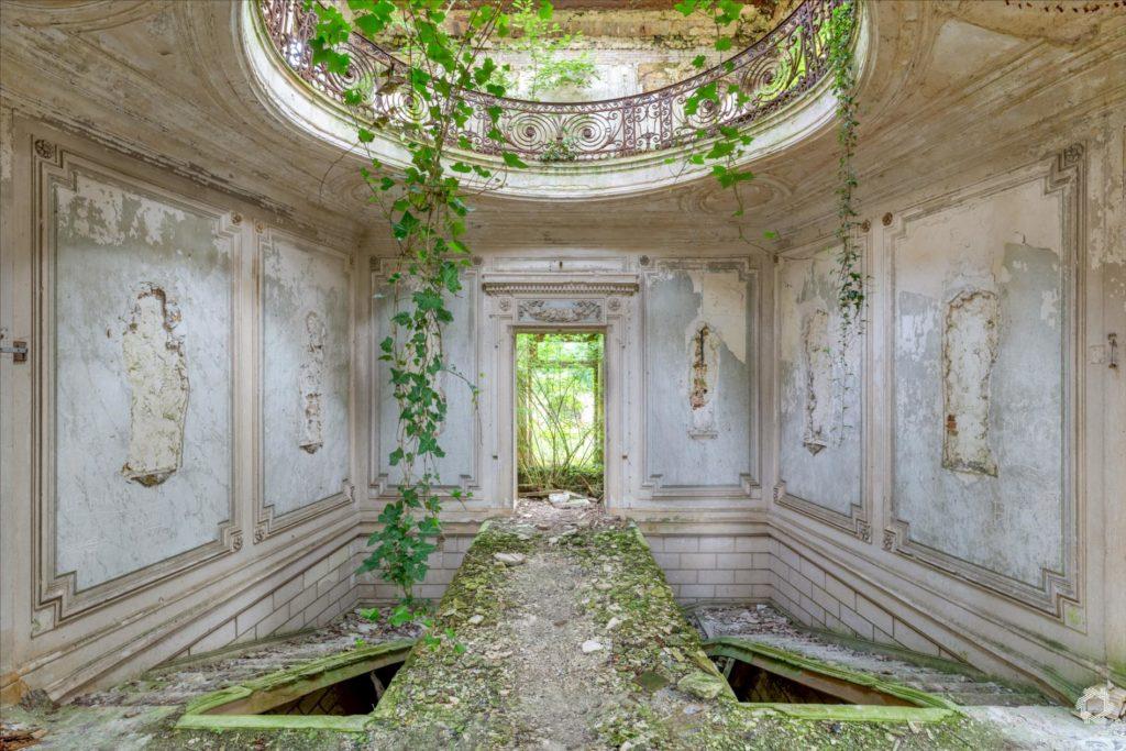 Photo Urbex Chateau Rotonde Laurent Lelarge (12)