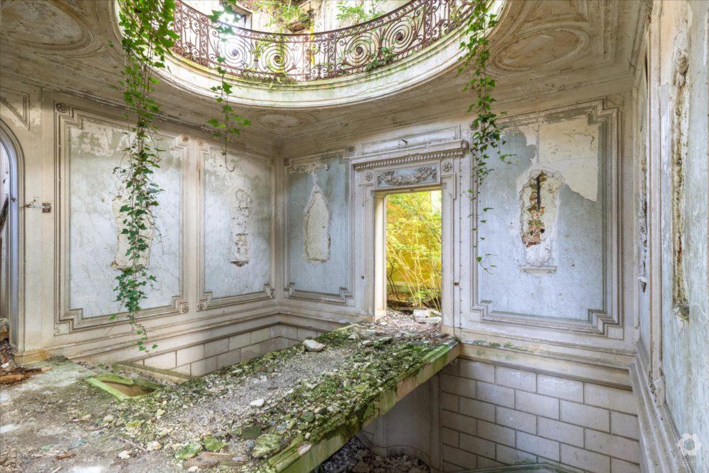 Photo Urbex Chateau Rotonde Laurent Lelarge (2)