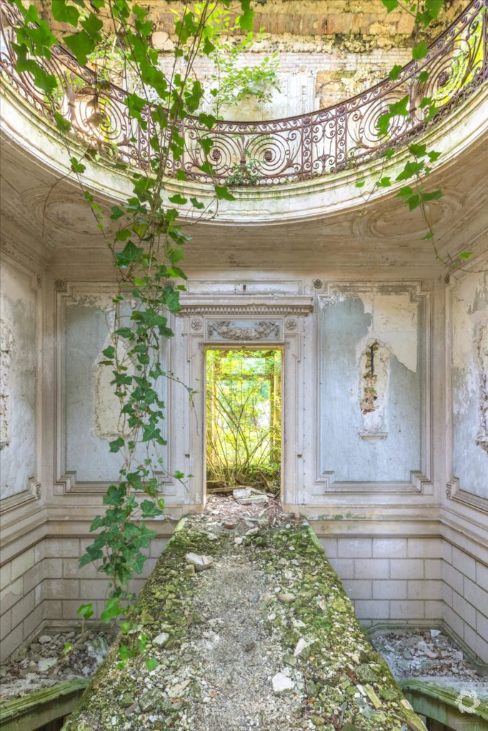 Photo Urbex Chateau Rotonde Laurent Lelarge (3)