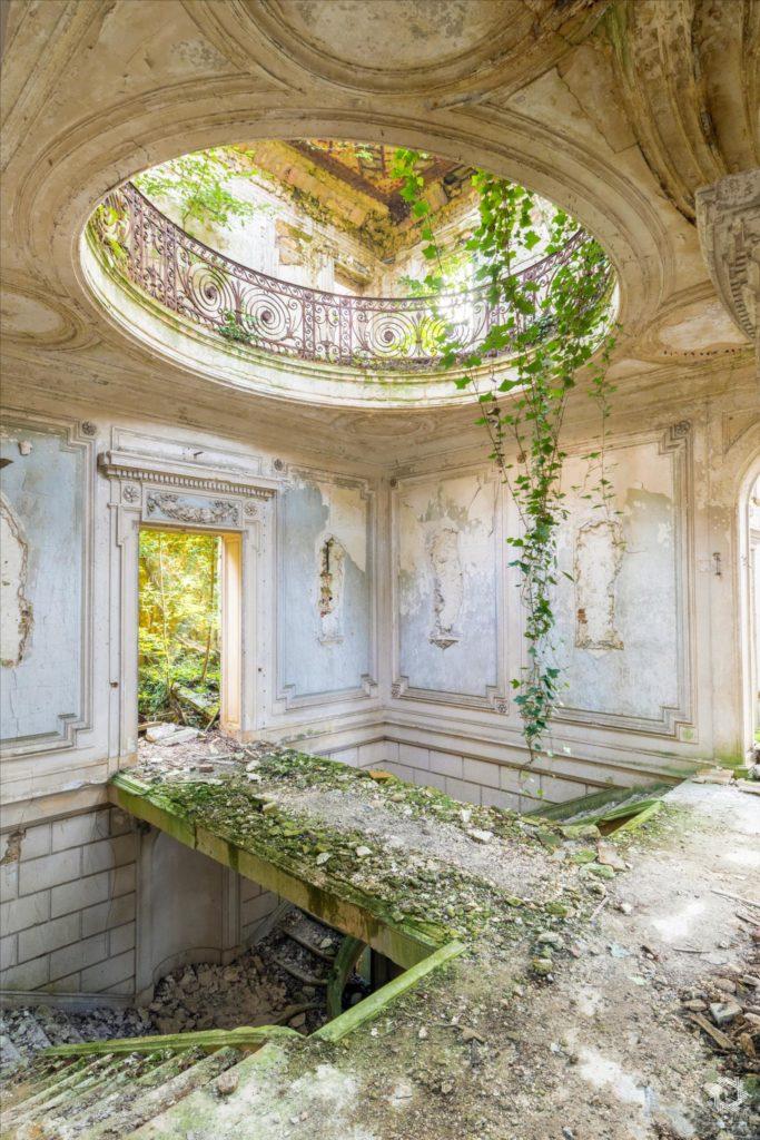 Photo Urbex Chateau Rotonde Laurent Lelarge (5)