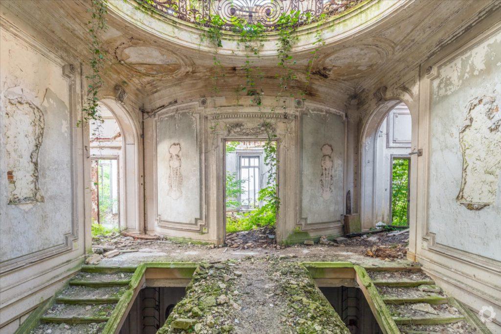Photo Urbex Chateau Rotonde Laurent Lelarge (6)
