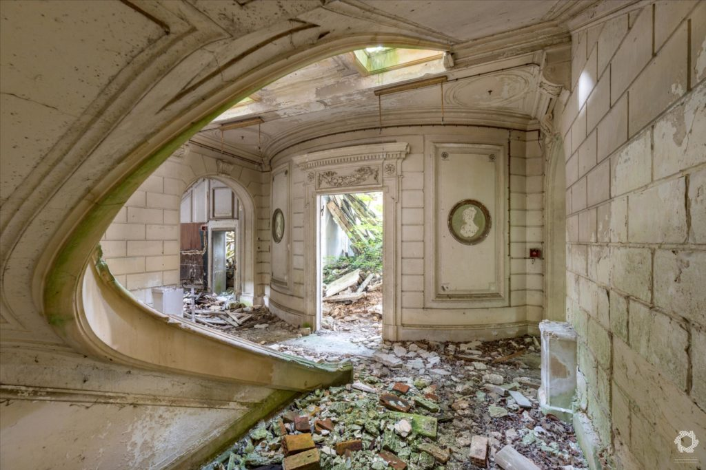 Photo Urbex Chateau Rotonde Laurent Lelarge (9)