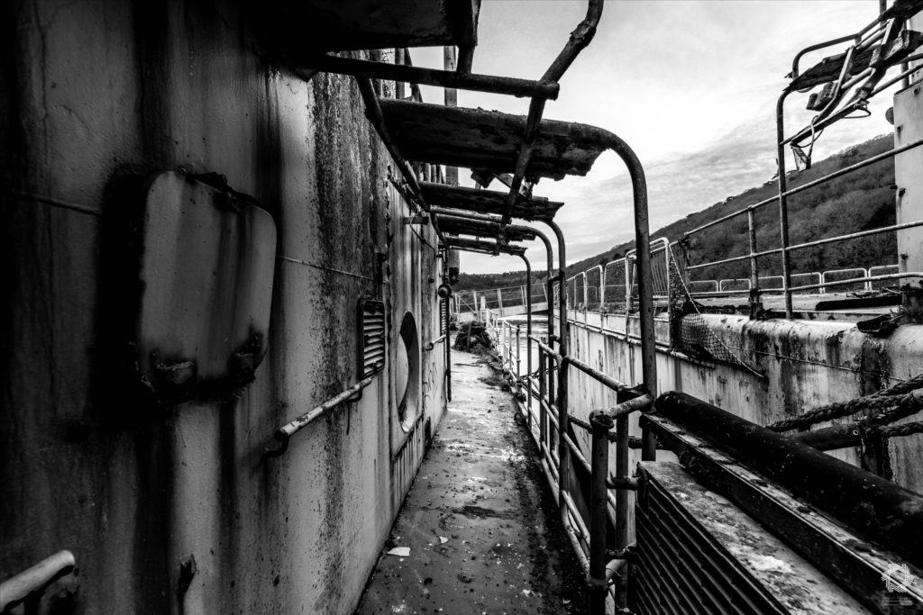 Photo Urbex Ghost Ships Laurent Lelarge (2)