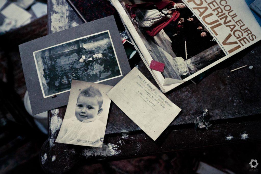Photo Urbex Manoir Livres Laurent Lelarge (13)