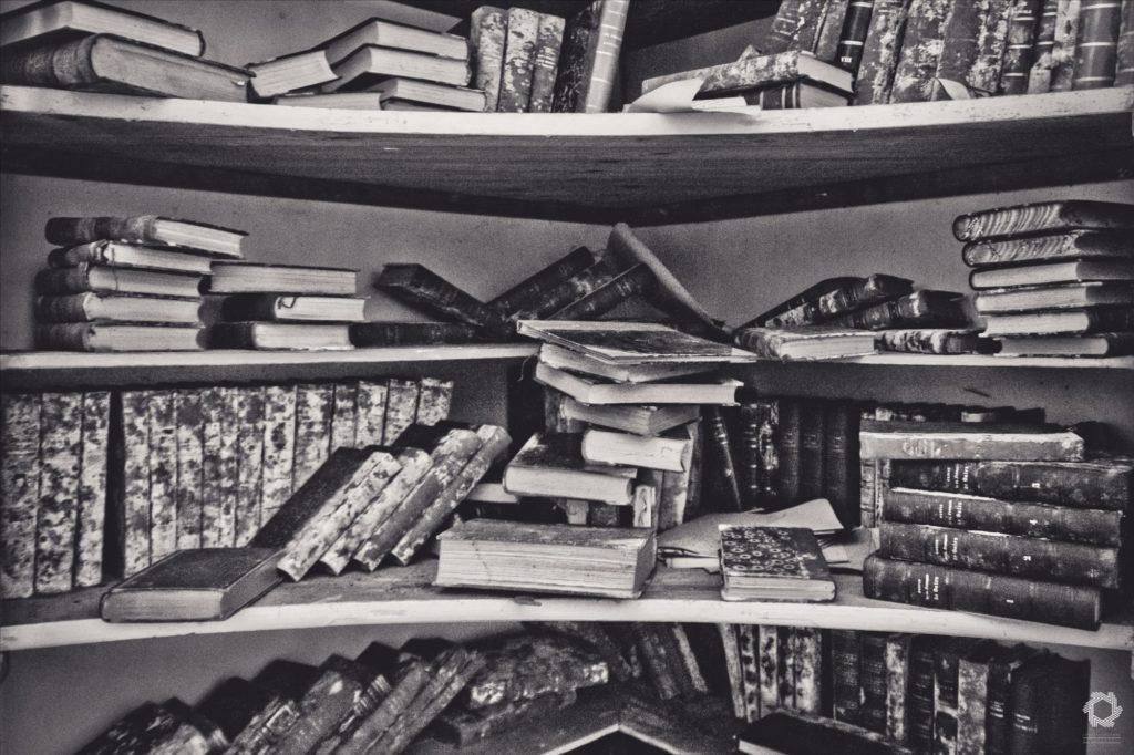 Photo Urbex Manoir Livres Laurent Lelarge (15)