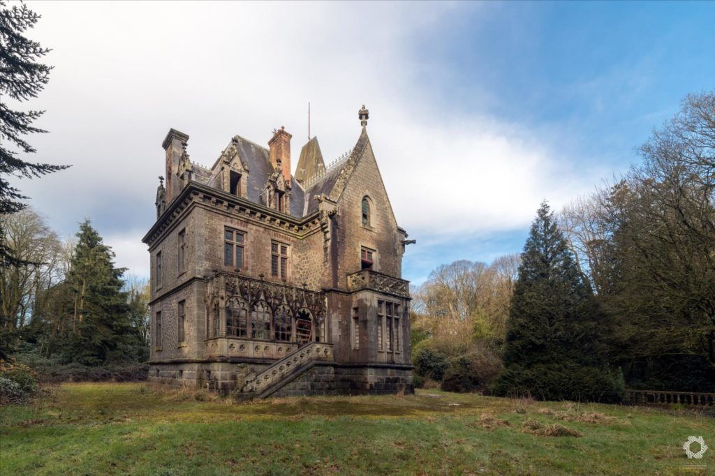 Urbex Chateau Gargouilles Laurent Lelarge (4)